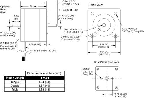 Nema 17 stepper motor wiring diagram circuit and for Nema 17 stepper motor datasheet