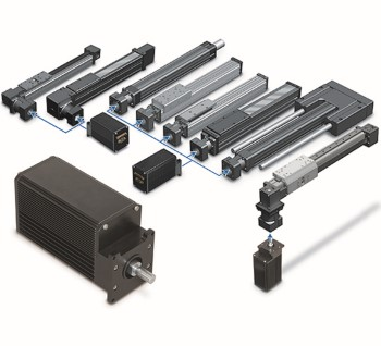 Tolomatic icm plus all in one servo control servo motor for Integrated servo motor and drive