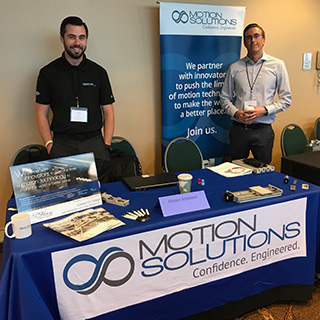 Outreach - MOSO booth at SME