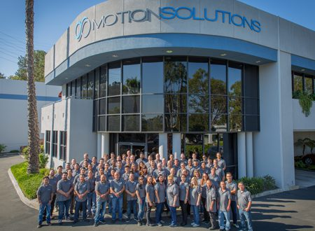 Motion Solutions engineering services team