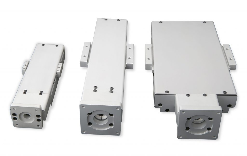dust covers for Shasta linear guide stages
