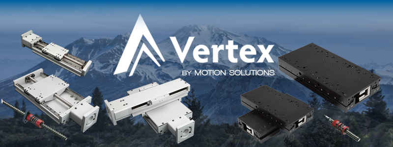 New Vertex web portal features budget-friendly precision positioners
