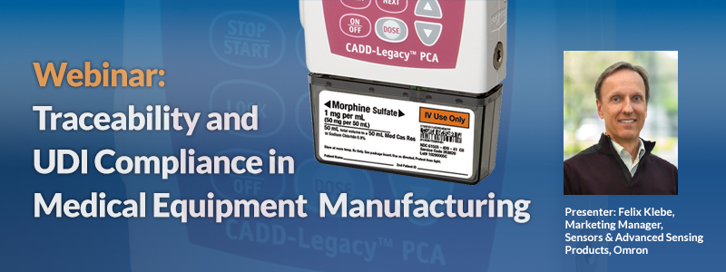Webinar: Traceability & UDI Compliance in Medical Equipment Manufacturing