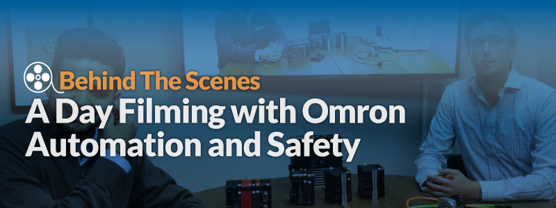 A Day of Filming with Omron
